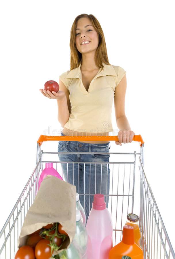 Download Do you want apple? stock image. Image of group, buying - 2918075
