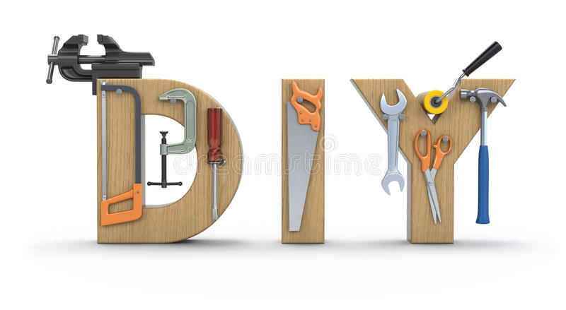 Download Do it Yourself concept stock illustration. Image of clamp - 22632272