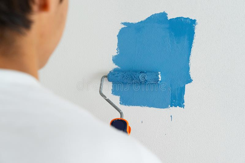 Do it yourself house renovations stock image