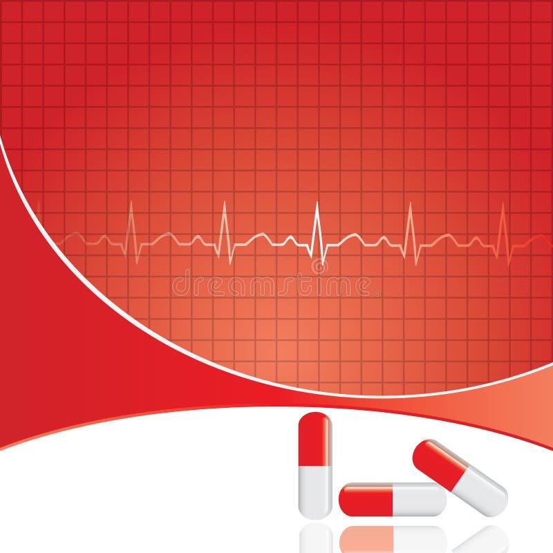 Doação de sangue. ilustração do vetor