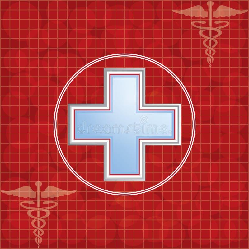 Fundo da doação de sangue. ilustração royalty free