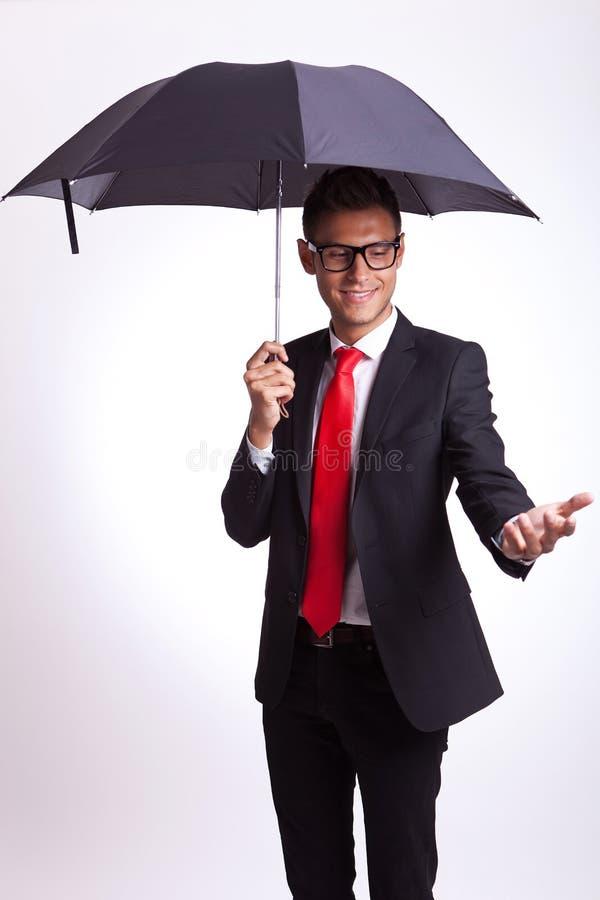 Doaes it rain? stock images