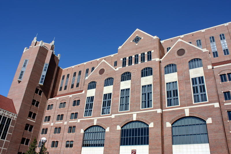 Doak Campbell Stadium. One of the towers at Doak Campbell Stadium on October 29, 2011 in Tallahassee, Florida stock photography