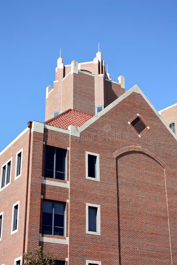 Doak Campbell Stadium. One of the towers at Doak Campbell Stadium on October 29, 2011 in Tallahassee, Florida royalty free stock photos