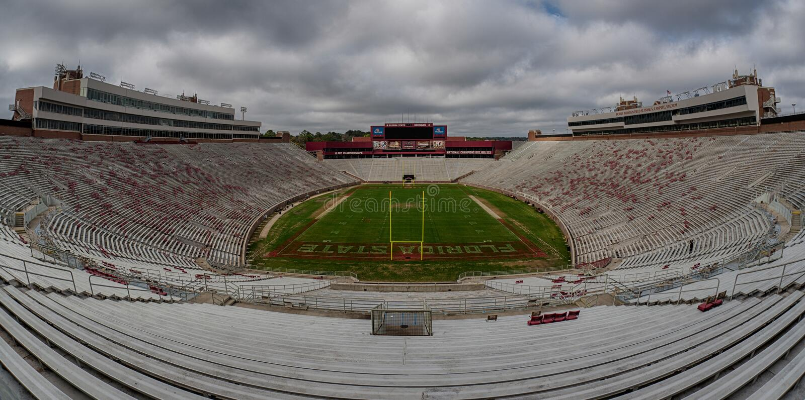 Doak Campbell Stadium royalty free stock photography