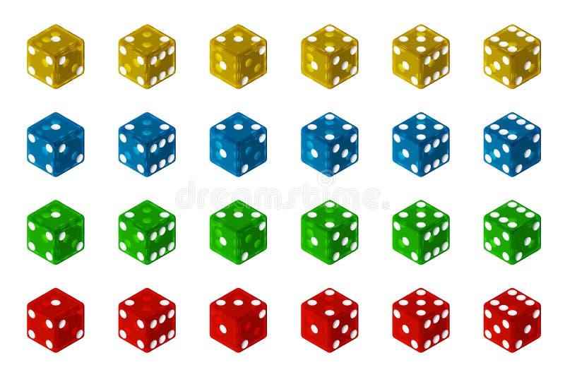 Dobbel Inzameling vector illustratie
