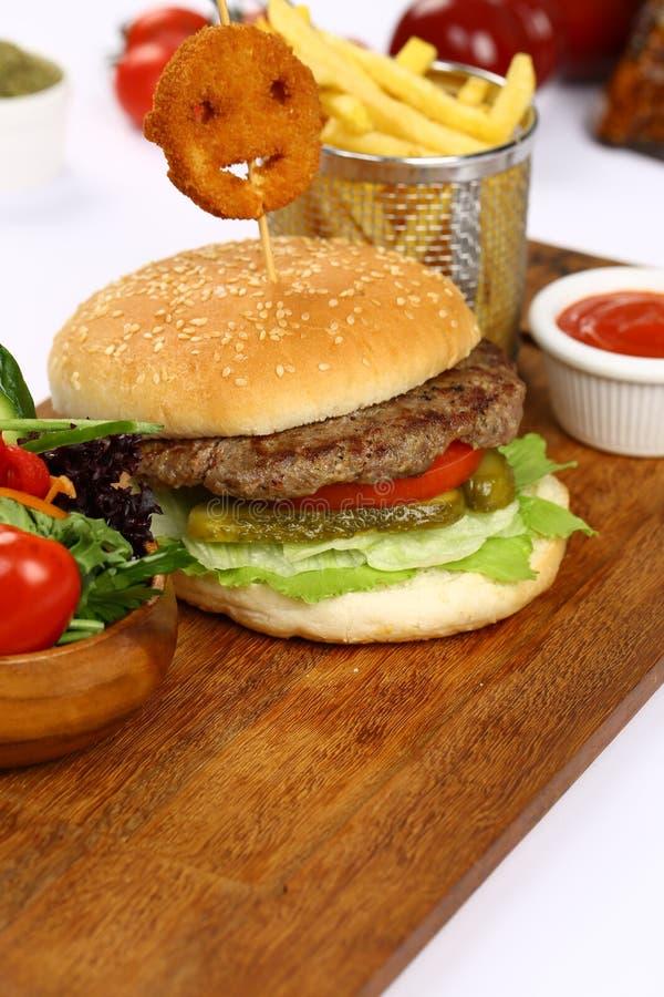 Dobble hamburger zdjęcia royalty free