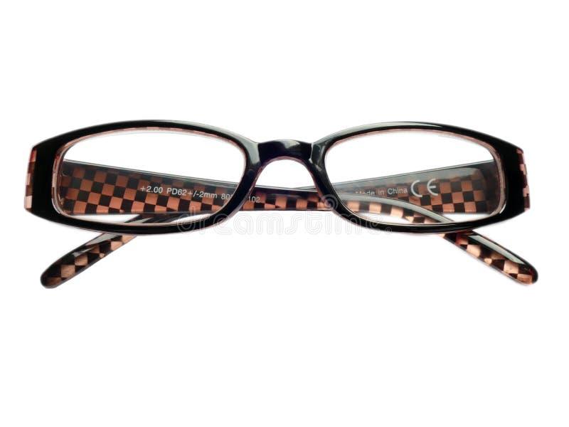 Dobierać do pary oczu szkła, czytelniczy szkła, eyeglass ramy, 2 (0) odizolowywający obrazy royalty free