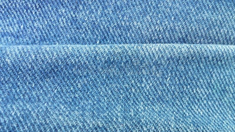 Doblez del dril de algodón imagen de archivo libre de regalías