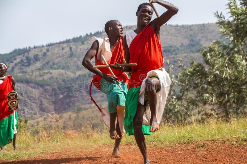 Dobosze Burundi obraz stock