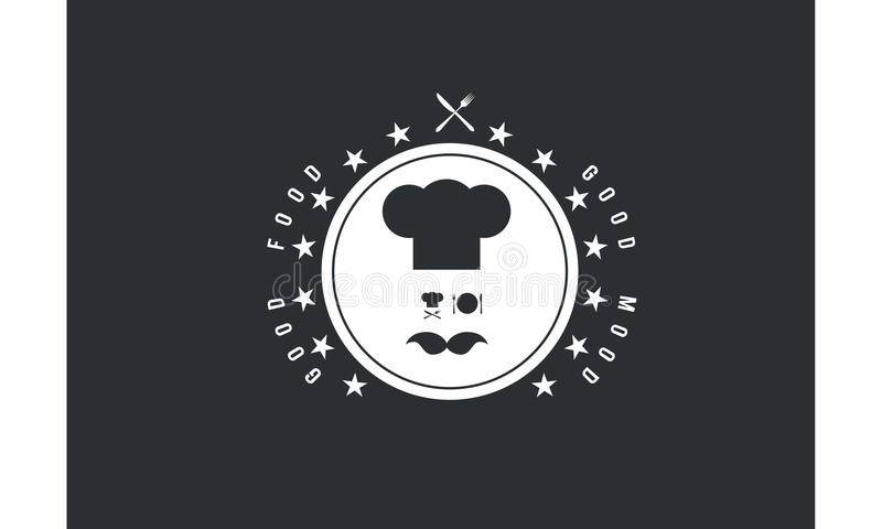 Dobra karmowa dobra trybowa logo ikona ilustracja wektor