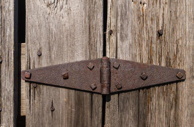 Dobradiça oxidada imagem de stock