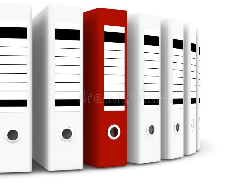 Download Dobrador Vermelho Dentro Do Branco Uns Ilustração Stock - Ilustração de dobrador, equipamento: 10063644