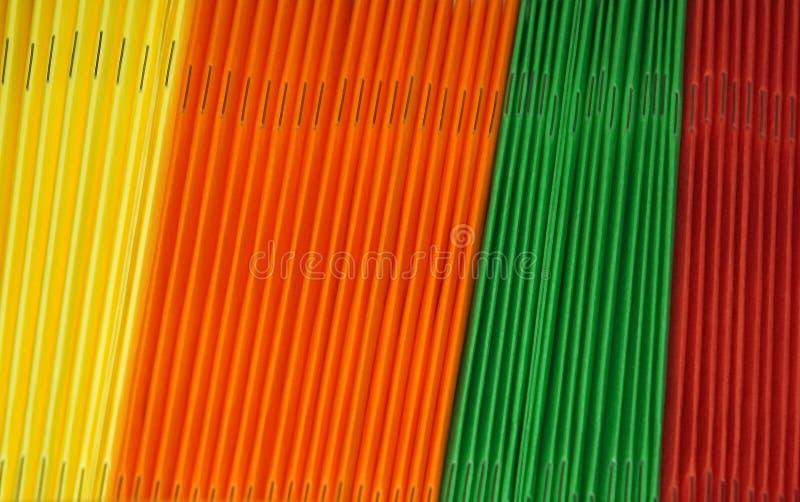 Download Dobradores coloridos imagem de stock. Imagem de fontes - 101035