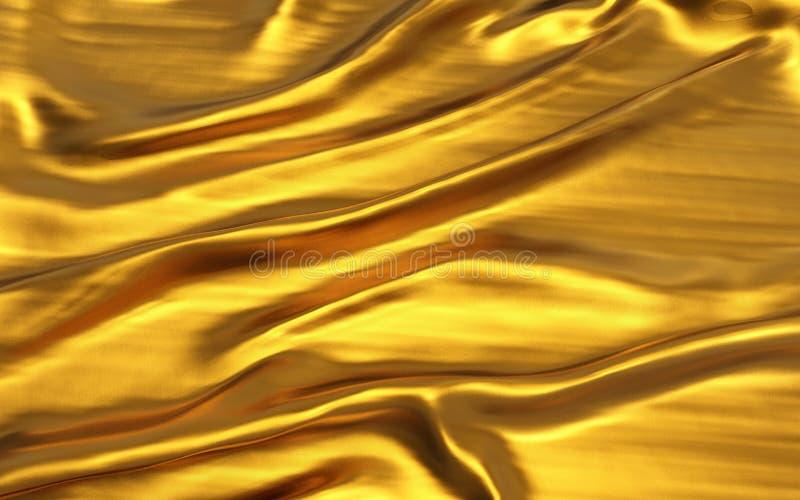 Dobras onduladas do material de seda de veludo do cetim da textura do grunge ou do fundo luxuoso ilustração do vetor