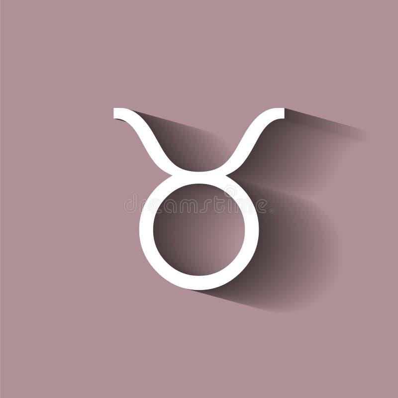 dobre logo łatwiejsze zmieniają kształt koszulę znak t tatuaży prostego taurus zodiak Astrologiczna symbol ikona ilustracja wektor