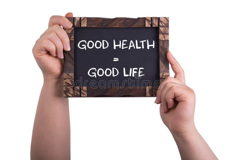 Dobrego zdrowia dobre życie zdjęcie royalty free