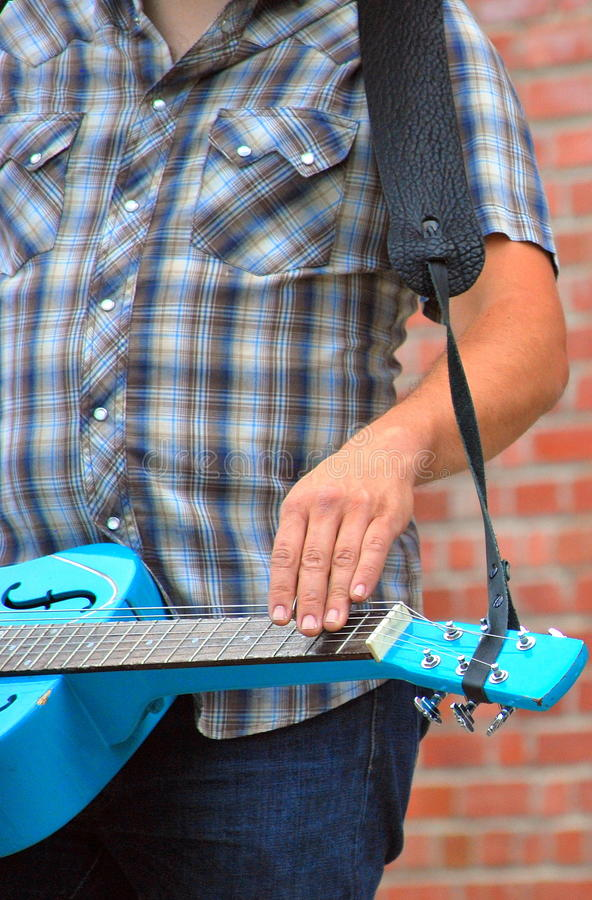 Dobro guitar. royalty free stock images