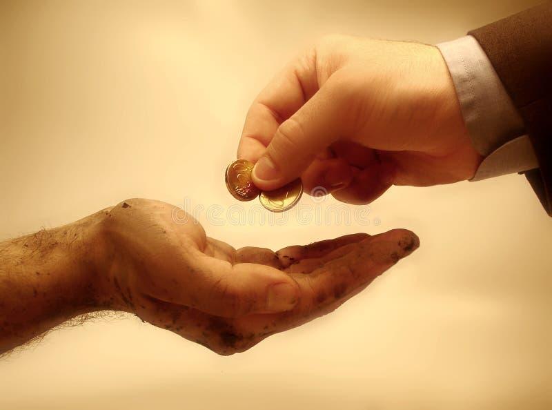 dobroczynność obraz stock