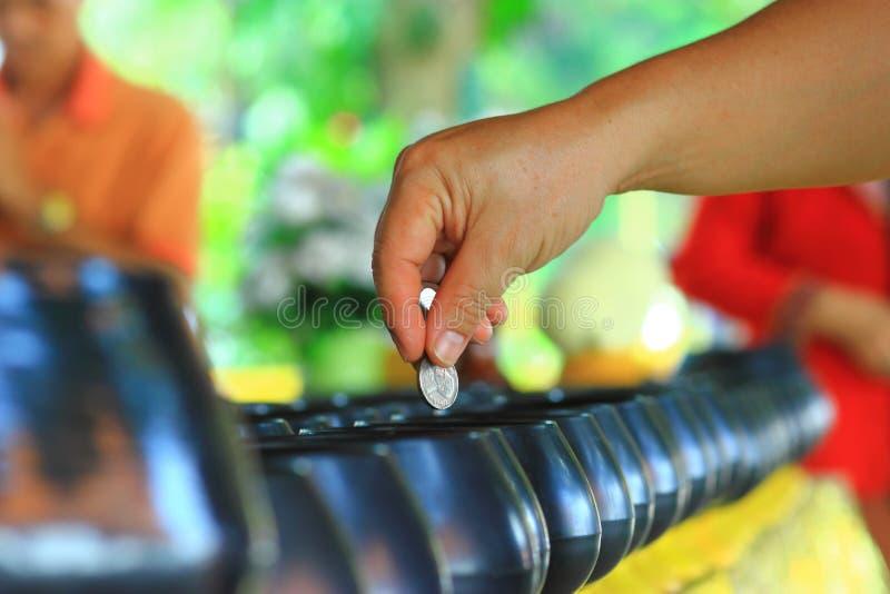 Dobroczynność darowizny fotografia stock