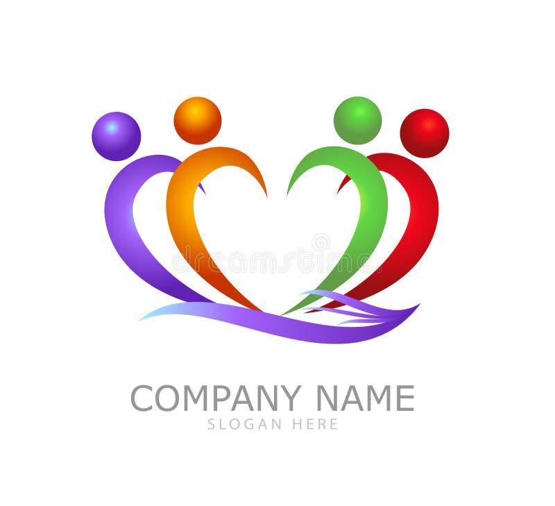 Dobroczynność logo ilustracji