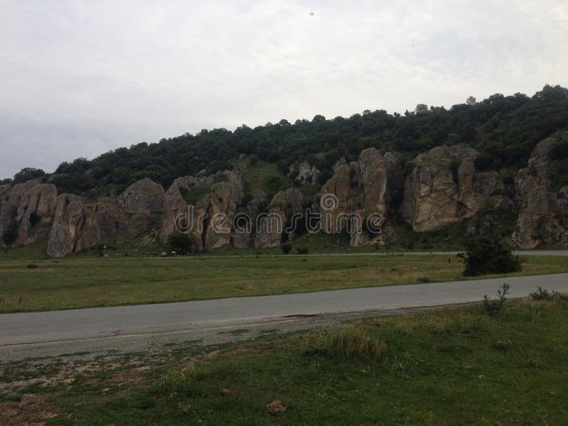 Dobrogea gorges royalty free stock images