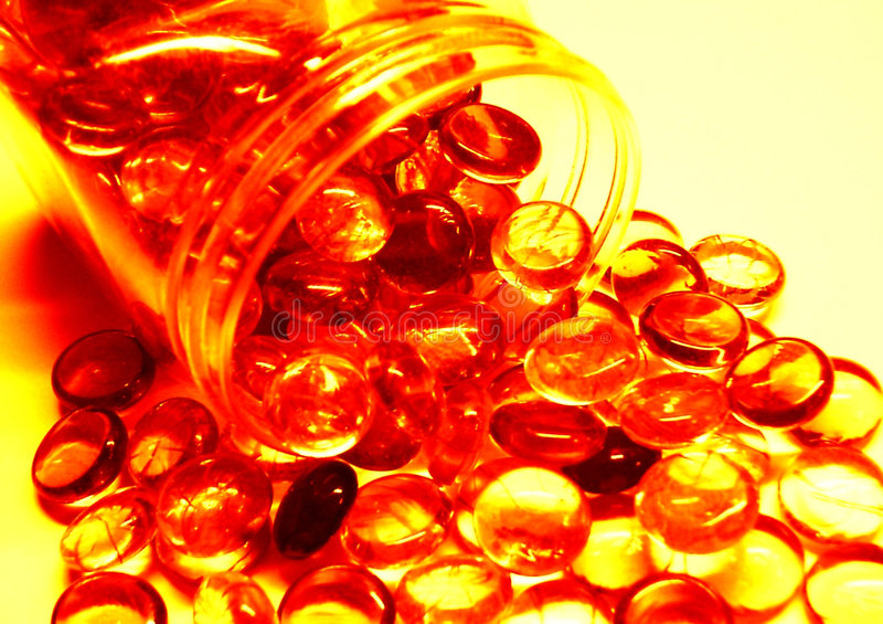 Dobry Jasnych Obiektów Pomarańczowy Czerwonawego Upadek Zdjęcie Royalty Free