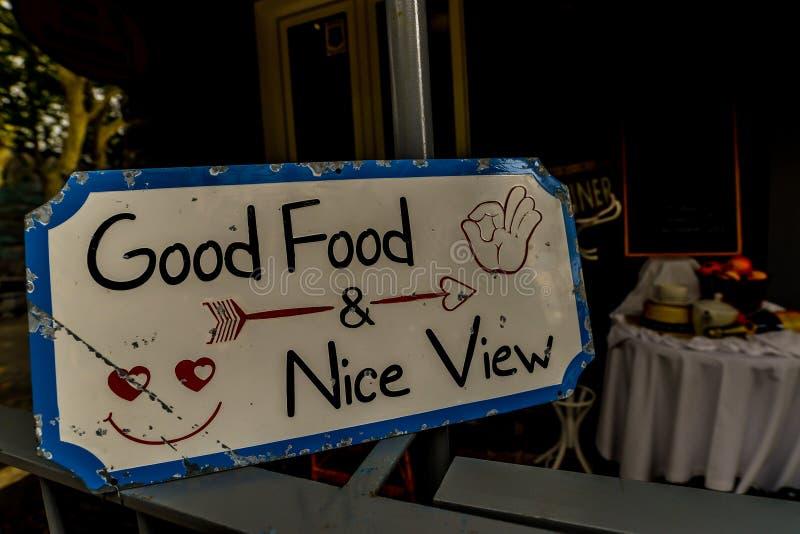 Dobry jedzenie - Ładny widok zdjęcia royalty free