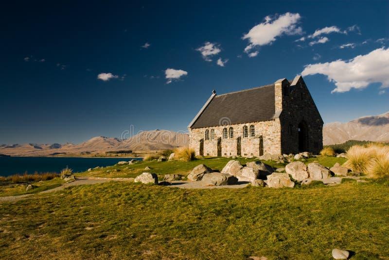 dobry pasterz kościelna fotografia royalty free