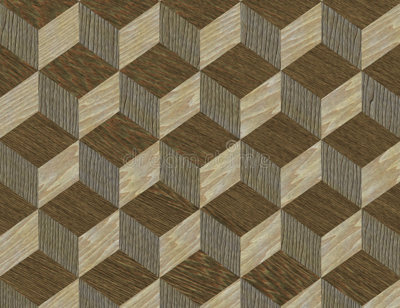 dobrze intarsja drewniana konsystencja wzoru royalty ilustracja