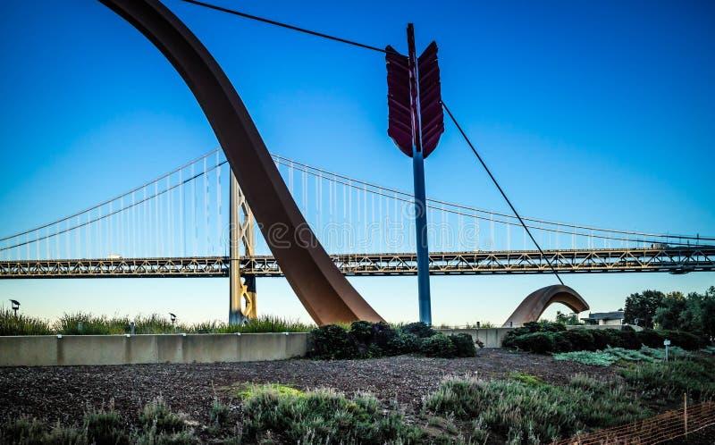 Dobrze robi? ogromny artysta budowa? jak struktura w San Francisco, Kalifornia obraz royalty free