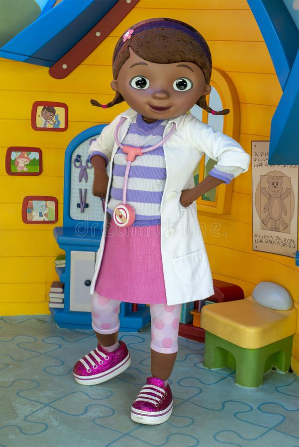 Doc. McStuffins, Disney World, voyage, studios de Hollywood images stock