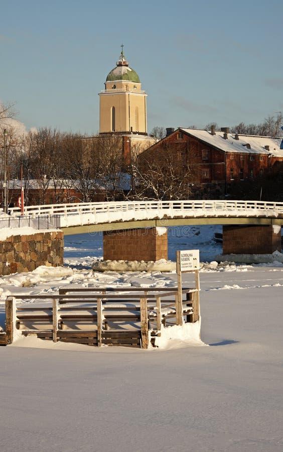 Doca de balsa - fechada para o inverno fotos de stock royalty free
