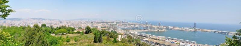 Docas de Barcelona imagens de stock