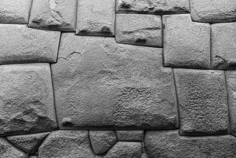 Doce ángulo Inca Stone, Cusco, Perú foto de archivo libre de regalías