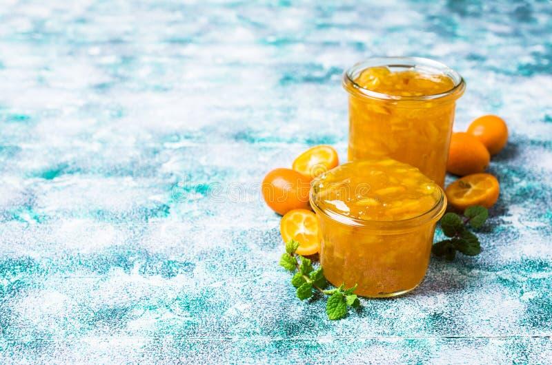 Doce do kumquat fotografia de stock