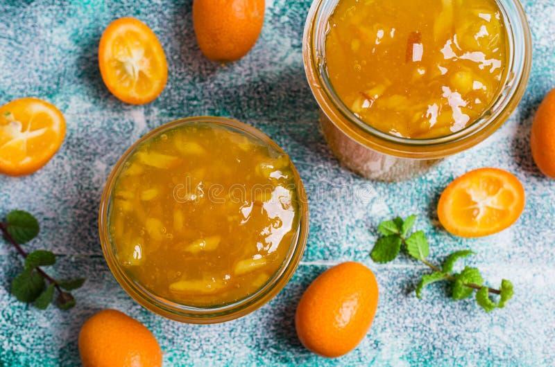Doce do kumquat imagem de stock