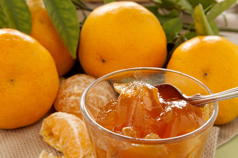 Doce do mandarino fotos de stock