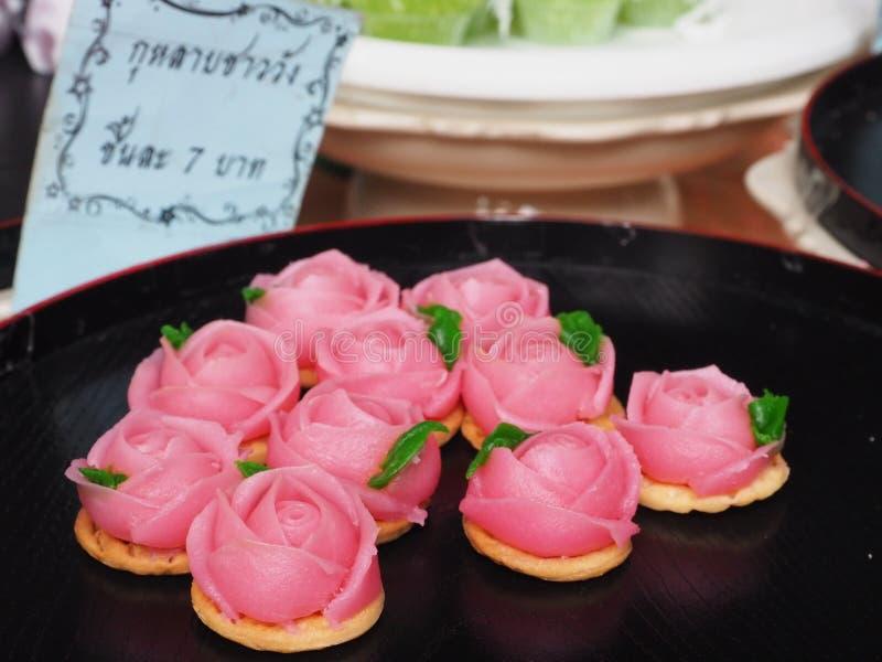 Doce tailandês imagens de stock