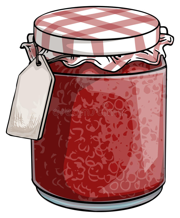Doce vermelho ilustração do vetor