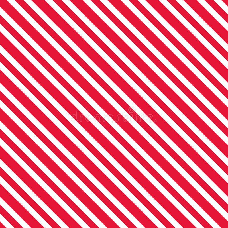 Doces Cane Stripes Seamless Pattern ilustração royalty free