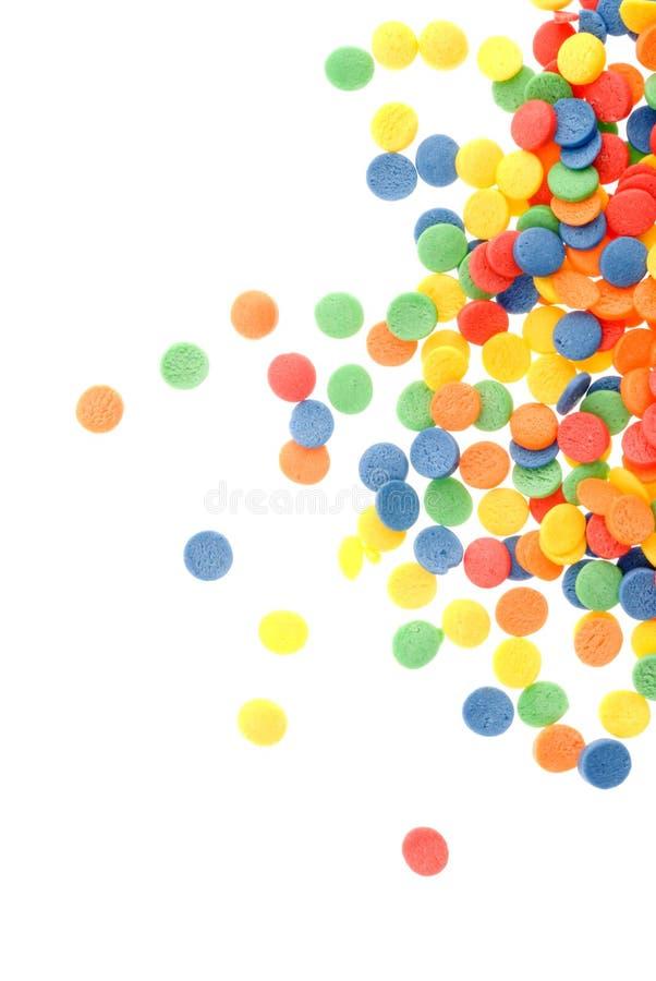 Doces coloridos imagem de stock