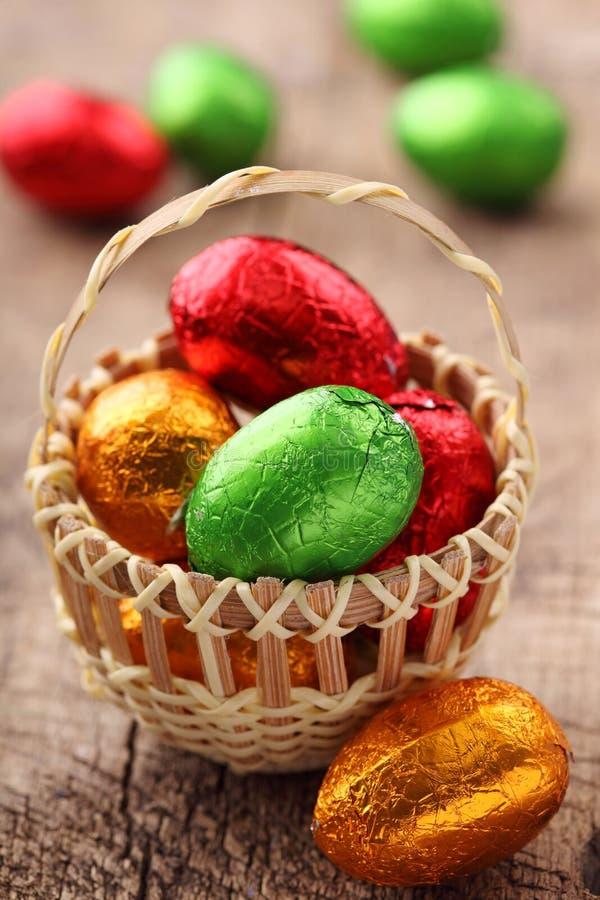 Doces coloridos do ovo de easter imagem de stock royalty free