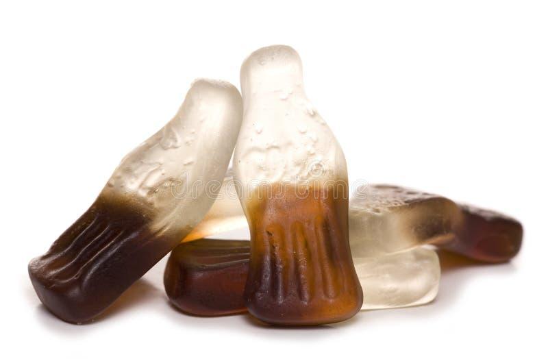 Doces da garrafa do casco imagem de stock