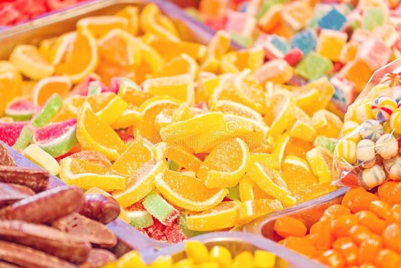 Doces de açúcar doces foto de stock