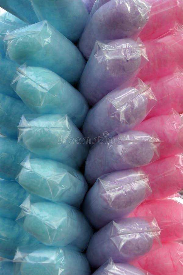Download Doces de algodão foto de stock. Imagem de cor, alimento - 57880