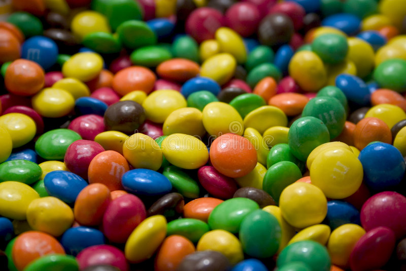 Doces de chocolate fotografia de stock