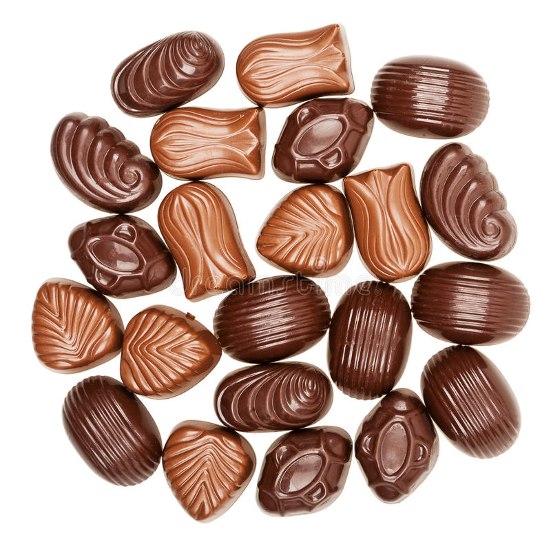 Download Doces De Chocolate Assorted Foto de Stock - Imagem de chocolate, alimento: 29828050