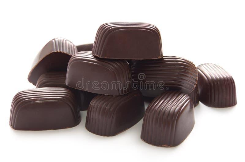 Download Doces De Chocolate Com Creme Doce Imagem de Stock - Imagem de marrom, alimento: 29828345