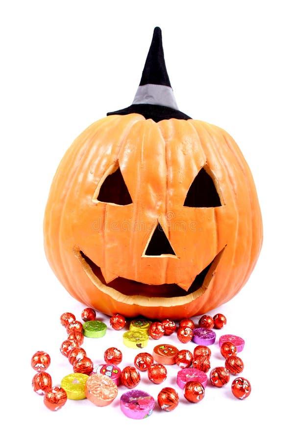 Doces de Halloween fotos de stock